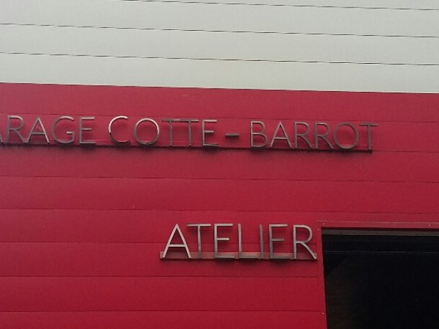 GARAGE COTTE BARROT