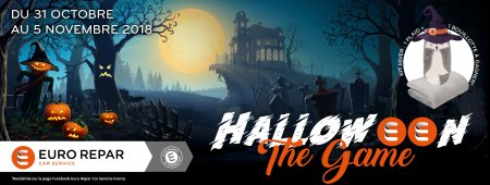 VENEZ PARTICIPER A HALLOWEEN THE GAME SUR FACEBOOK !